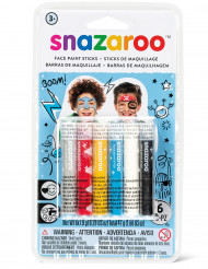 6 Sticks maquillage garçons Snazaroo™