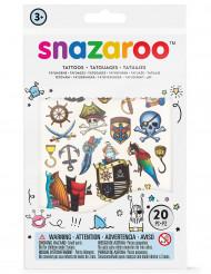 20 Tatouages temporaires garçon Snazaroo™