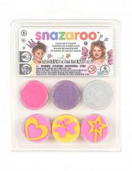Mini kit maquillage et tampons modèle fées & papillons Snazaroo™