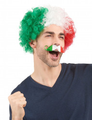 Moustache supporter Italie adulte