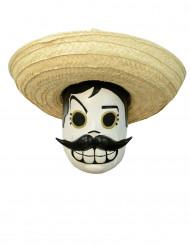 Masque dia de los muertos adulte - Calaveritas™ Halloween