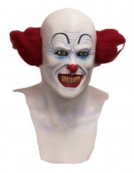 Masque intégral clown diabolique adulte -  Halloween