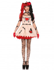 Déguisement poupée vaudou femme