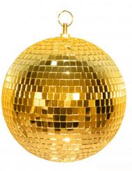 Boule à facettes dorée 20cm