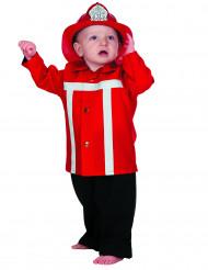 Déguisement pompier rouge bébé