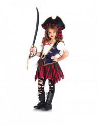 Déguisement trésor de pirate fille