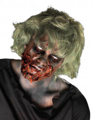 Kit maquillage zombie déchiqueté adulte Halloween