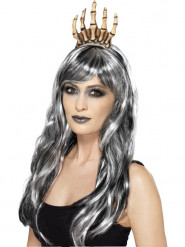 Couronne main squelette adulte Halloween