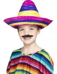 Sombrero multicolore enfant