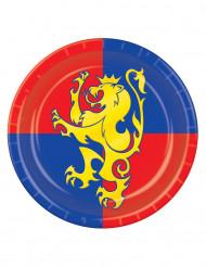 Assiettes médiévales 23 cm