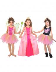 Déguisement 3 en 1 fée princesse popstar coffret fille