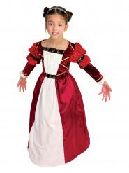 Déguisement comtesse médiévale fille