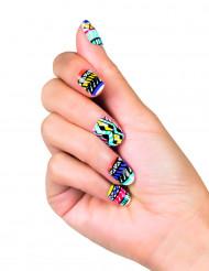 Faux ongles adhésifs fantasy tribal femme