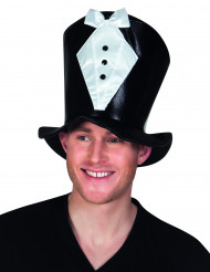 Chapeau haut de forme costume adulte