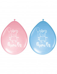 8 Ballons latex Peppa Pig™