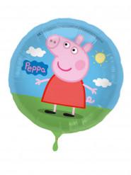 Ballon aluminium Peppa Pig™ 43 cm