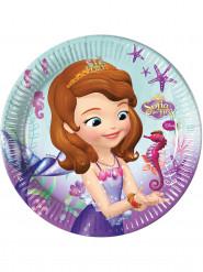 8 Assiettes en carton Princesse Sofia™ 23 cm