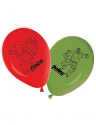 8 Ballons en latex Avengers l