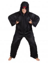 Déguisement gorille noir luxe adulte