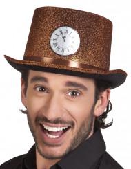 Chapeau haut de forme cuivré adulte