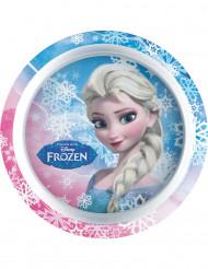Assiette en plastique La Reine des Neiges™ 21 cm