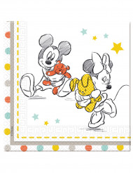 20 Serviettes 2 plis Baby Shower Disney baby™