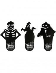 Sous-verres ombres Halloween