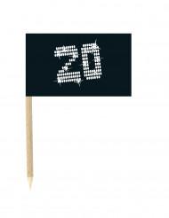 10 Drapeaux mini pics 20 ans VIP