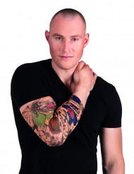 Manches tatouages clown adulte