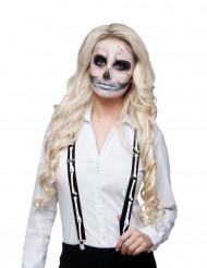 Bretelles squelette adulte Halloween