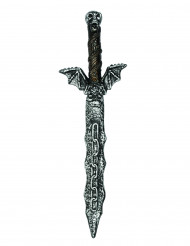 Epée squelette 54 cm en plastique