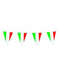 Guirlande drapeaux italiens 10 m
