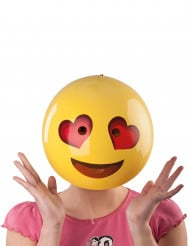 Masque smiley amoureux adulte
