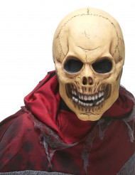 Masque latex crâne effrayant adulte
