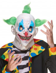 Masque latex clown terrifiant adulte
