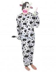 Déguisement vache avec masque adulte