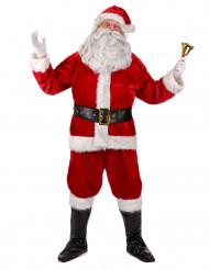 Déguisement complet père Noël Luxe adulte