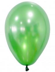 50 Ballons verts métallisés