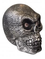 Décoration crâne géant lumineux et sonore 30 cm Halloween