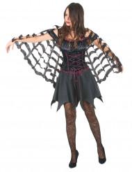 Cape araignée femme Halloween