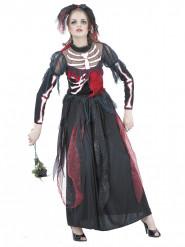 Déguisement mariée squelette femme Halloween