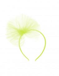 Serre-tête nœud en tulle vert