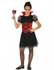 Déguisement vampiresse fille Halloween