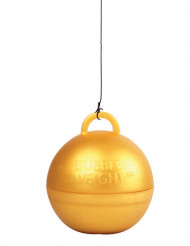Poids ballon hélium or 35 g