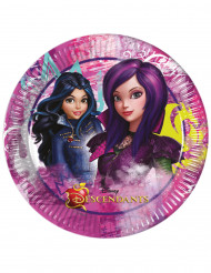 8 Assiettes 23cm Descendants ™