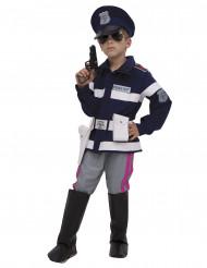 Déguisement luxe Policier garçon
