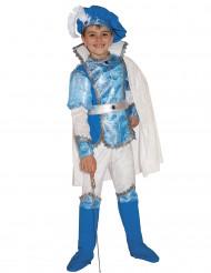 Déguisement luxe jeune prince bleu garçon