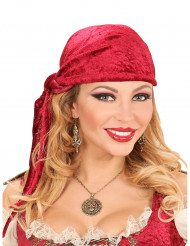 Collier médaillon pirate adulte