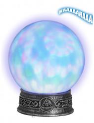 Boule de cristal lumineuse