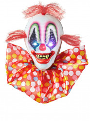 Décoration lumineuse clown effrayant